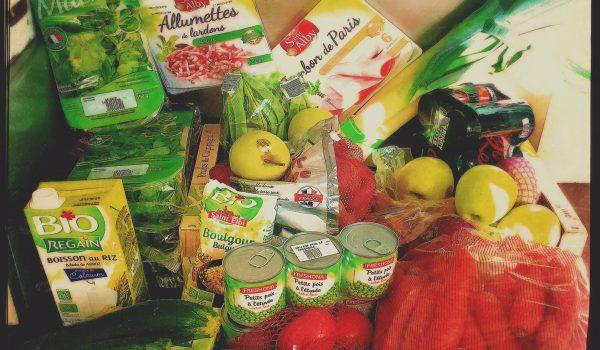 Liste de course pour perdre du poids et mieux manger