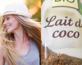 Le lait de coco pour une pousse accélérée de vos cheveux