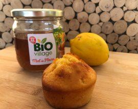 cake citron miel bio